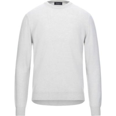 ドルモア DRUMOHR メンズ ニット・セーター トップス cashmere blend Light grey