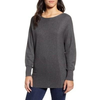 トッミーバハマ レディース Tシャツ トップス Bonita Boatneck Dolman Sweater WEIMARANER
