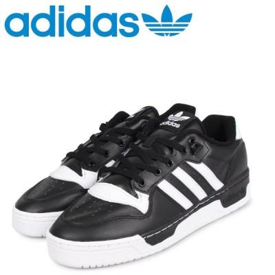 adidas Originals アディダス オリジナルス ライバルリー ロー スニーカー メンズ RIVALRY LOW ブラック 黒 EG8063