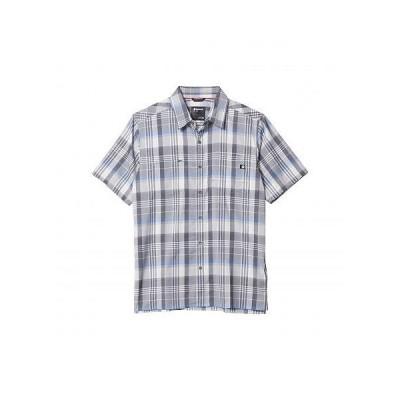 Marmot マーモット メンズ 男性用 ファッション ボタンシャツ Innesdale Short Sleeve Shirt - Sleet