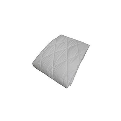 エブリ寝具ファクトリー ベッドパッド (セミダブル) キナリ 洗える フランス産羊毛100% ベッドパット 夏は涼しく 冬は温かい