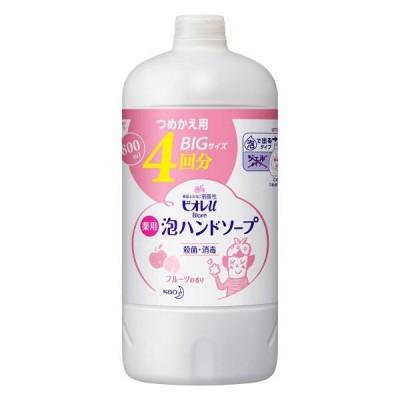 ビオレu 泡ハンドソープ フルーツの香り 詰替800ml  泡タイプ  花王