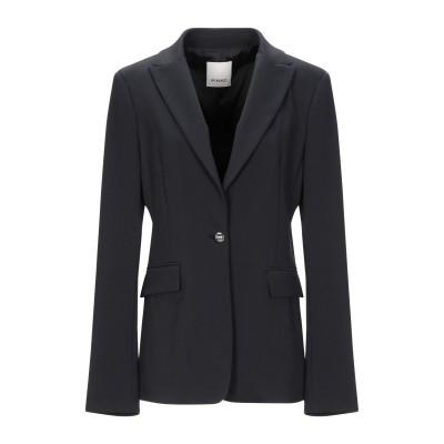 ピンコ PINKO テーラードジャケット ブラック 38 レーヨン 65% / ナイロン 30% / ポリウレタン 5% テーラードジャケット