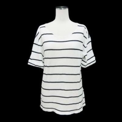 theory セオリー「S」ビッグシルエット ボーターTシャツ (半袖) 097587【中古】