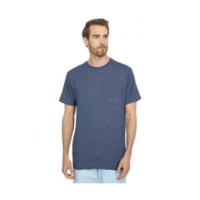 O'Neill オニール メンズ 男性用 ファッション Tシャツ Solid Pocket Short Sleeve Tee - Navy Heather