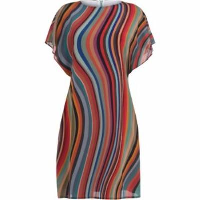 ポールスミス PS BY PAUL SMITH レディース ワンピース ミドル丈 ワンピース・ドレス PS Midi Twirl Dress Swirl