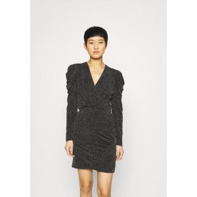 セカンド フィメール レディース ワンピース トップス CRAWFORD DRESS - Cocktail dress / Party dress - black black