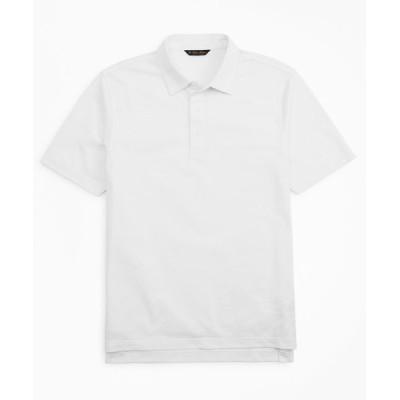 BROOKS BROTHERS / スーピマコットンピケ ソリッド ポロシャツ MEN トップス > ポロシャツ