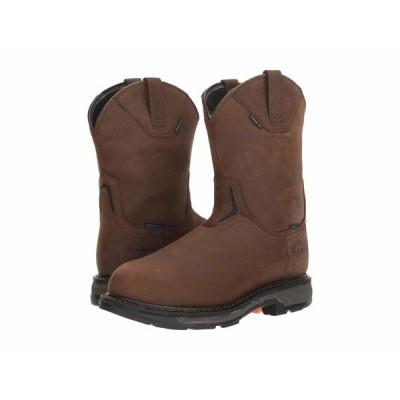 アリアト ブーツ&レインブーツ シューズ メンズ Workhog XT Wellington H2O Carbon Toe Oily Distressed Brown