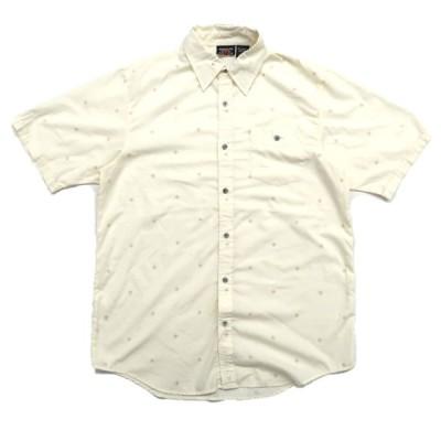 インディペンデンス 総柄 ポリエステル 半袖シャツ サイズ表記:M