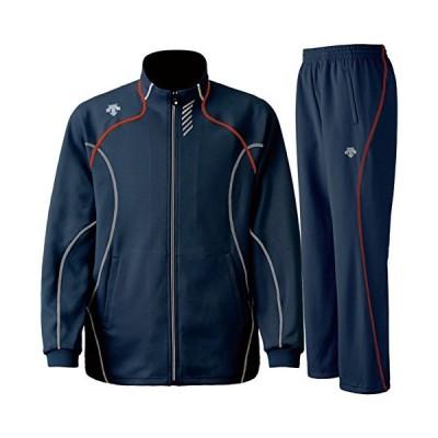 デサント(DESCENTE) トレーニングジャケット&パンツ上下セット(インクグレー) DTM-1910B-INR-DTM-1910PB-INR L