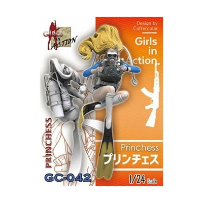 トリファクトリー 1/24 ガールズインアクションシリーズ プリンチェス レジンキット GC-042