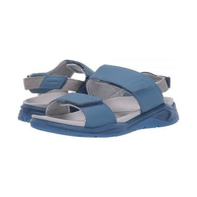 ECCO Sport エコー スポーツ レディース 女性用 シューズ 靴 サンダル X-Trinsic Leather Sandal - Retro Blue Cow Leather