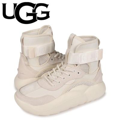 UGG アグ スニーカー クラウドハイ レディース 厚底 LA CLOUD HI ホワイト 白 1108914