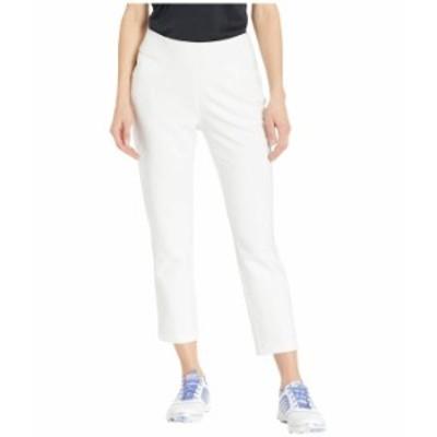 アディダス レディース カジュアルパンツ ボトムス Ultimate365 Adistar Cropped Pants White