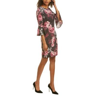 ロンドンタイムス ワンピース トップス レディース London Times Sheath Dress plum and rose