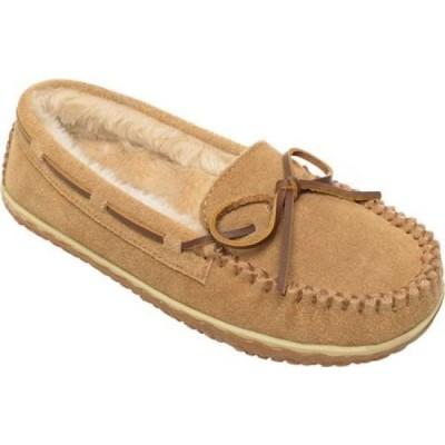 ミネトンカ Minnetonka レディース スリッパ モカシン シューズ・靴 Tilia Moccasin Slipper Cinnamon Suede