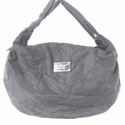 【中古】マークバイマークジェイコブス MARC by MARC JACOBS バッグ ショルダー キルティング 黒 鞄  レディース