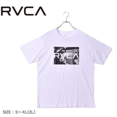 (ゆうパケット可) ルーカ 半袖 トップス メンズ レディース SPEED BAG HB ST ラッシュガード RVCA BB041851 ホワイト