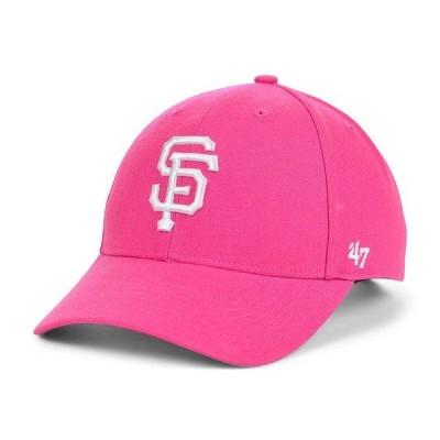 47ブランド 帽子 アクセサリー レディース San Francisco Giants Brights MVP Cap Pink