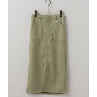 【フレームスレイカズン】スエードポンチナロースカート