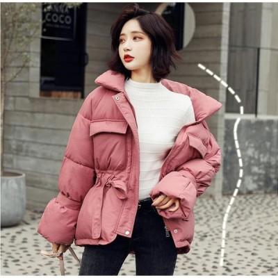 ゆったり感  暖かい 秋冬 ダウンジャケット 中綿コート 上着 厚手 レディース アウター ショート丈コート 中綿ジャケット 大人気 トップス防寒 保温  20代30代