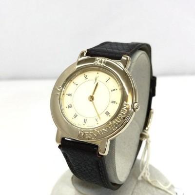 中古 YVES SAINT LAURENT イヴサンローラン イブサンローラン 腕時計 アナログ クォーツ 4620-E60957Y JAPAN RY4616