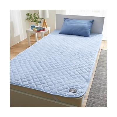 先染め洗いざらしの綿100%敷きパッド 敷きパッド・敷パッド, ベッドパッド, Bed pats(ニッセン、nissen)
