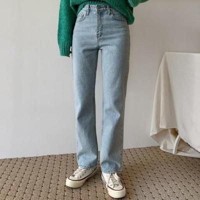 ENVYLOOK レディース ジーンズ Two Faded denim pants