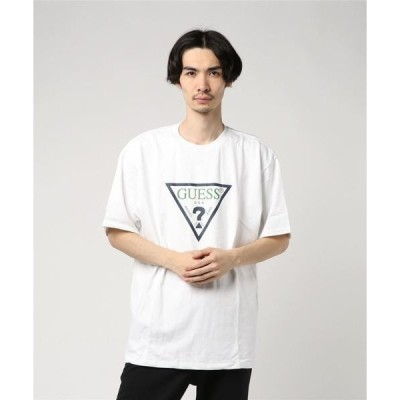 tシャツ Tシャツ GUESS GREEN LABEL / ゲス:TRIANGLE LOGO TEE:GRFW17-001[WAX]