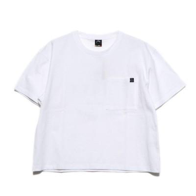 ラスティ RUSTY ハンソデ Tシャツ (WHT)