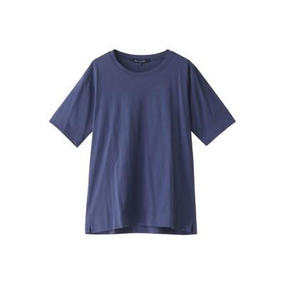 HELIOPOLE エリオポール 【SOFIE D`HOORE】BASIC Tシャツ レディース ネイビー 36