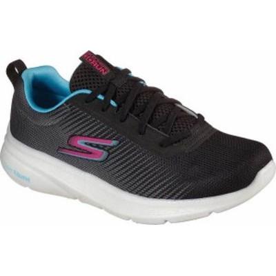 スケッチャーズ レディース スニーカー シューズ GOrun Hyper Pillars Ignite Sneaker Black/Blue/Pink