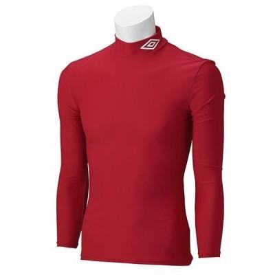 アンブロ サッカー ジュニア L/Sコンプレッションシャツ 16SS MRED ケームシャツ・パンツ(uas9300j-mred)