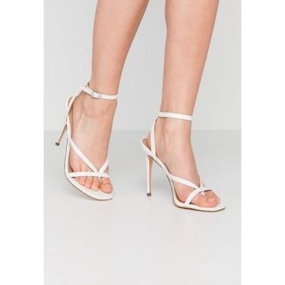 スティーブ マデン サンダル レディース シューズ AMADA - High heeled sandals - white