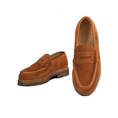 パラブーツ ローファー ランス REIMS メンズ靴 VELスエードレザー ブラウン マロンウィスキー 国内正規取扱店 8+サイズ(27.0