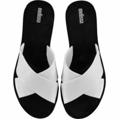 メリッサ Melissa レディース サンダル・ミュール シューズ・靴 Essential Sliders White Contrast