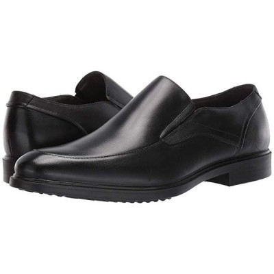 ハッシュパピー Turner MT Slip-On メンズ ローファー Black Waterproof Leather