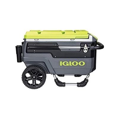 Igloo Trailmate Journey 70クォートクーラー、チャコール/酸グリーン/クロム好評販売中