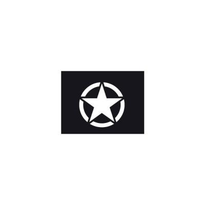 ジープ コンパス レネゲード USアーミー スター ステッカー 送込【領収発行可】