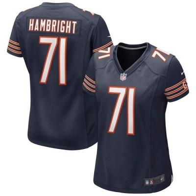 ナイキ レディース Tシャツ トップス Arlington Hambright Chicago Bears Nike Women's Game Jersey