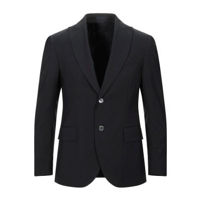 FUTURO テーラードジャケット ブラック 48 バージンウール 100% テーラードジャケット