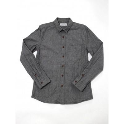 【半額SALE】 ICHIMILE GRATORY【イチマイルグラトリー】 / IMG-S2 / stitch less shirts 【シャンブレーシャツ】