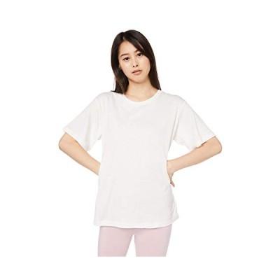 [ジェラート ピケ] 【Joel Robuchon & gelato pique】HOMME smile cotton ロゴTシャツ PMCT194962 メンズ OWHT 日本 L (日本サイズL相当)