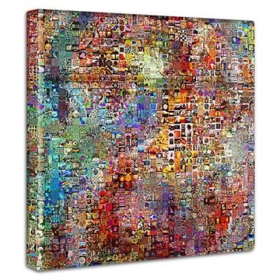 モザイクアート ファブリックパネル インテリア パネル アート 玄関 リビング 飾り おしゃれ 壁掛け 絵