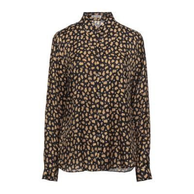 CAMICETTASNOB シャツ ブラック 44 レーヨン 70% / シルク 30% シャツ