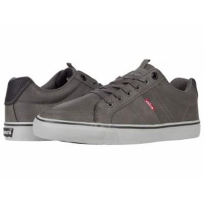 Levis(R) Shoes リーバイス メンズ 男性用 シューズ 靴 スニーカー 運動靴 Turner Tumbled Charcoal/Black【送料無料】