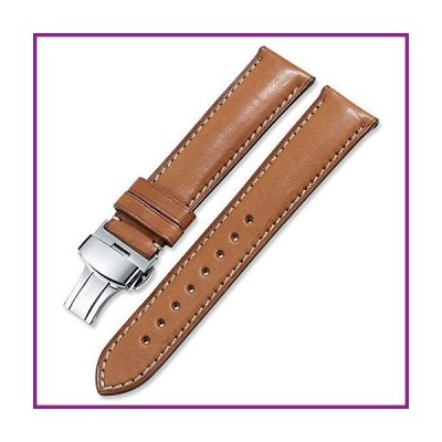 iStrap Quick Release Watch Band - Top Grain Leather Replacement Quickfit Strap - Stainless Steel Buckle - 18mm, 19mm, 20mm, 21mm 22mm,24mm f