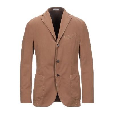 ボリオリ BOGLIOLI テーラードジャケット キャメル 48 コットン 87% / ナイロン 13% テーラードジャケット