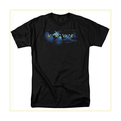 Trevco Amazing Race-Faded Globe - Short Sleeve Adult 18-1 Tee - Black, Medium